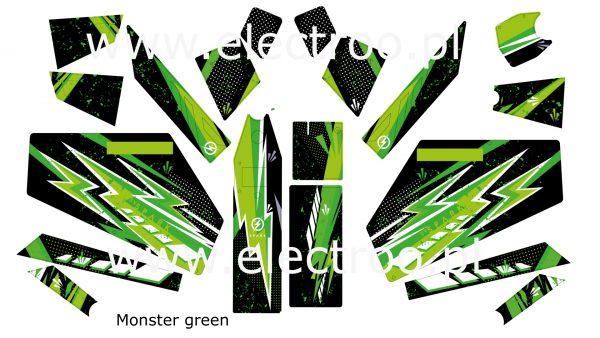 monster green zestaw