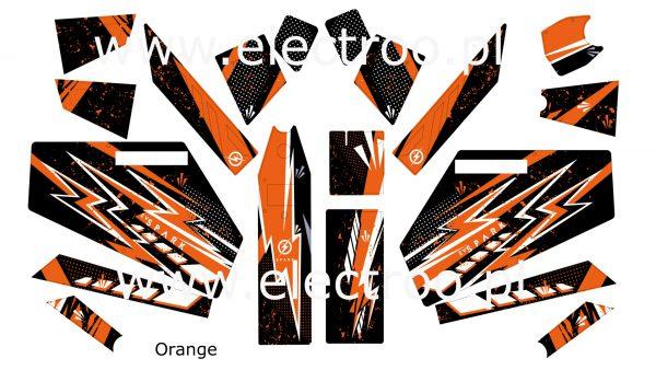 orange zestaw
