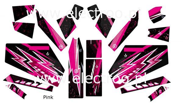 pink zestaw
