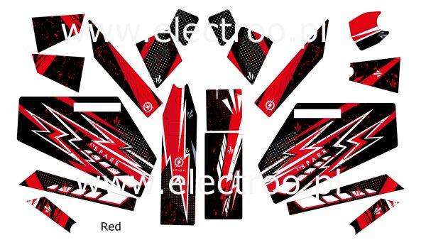 red zestaw