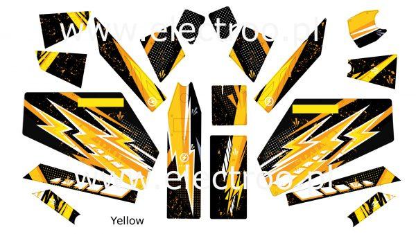 yellow zestaw